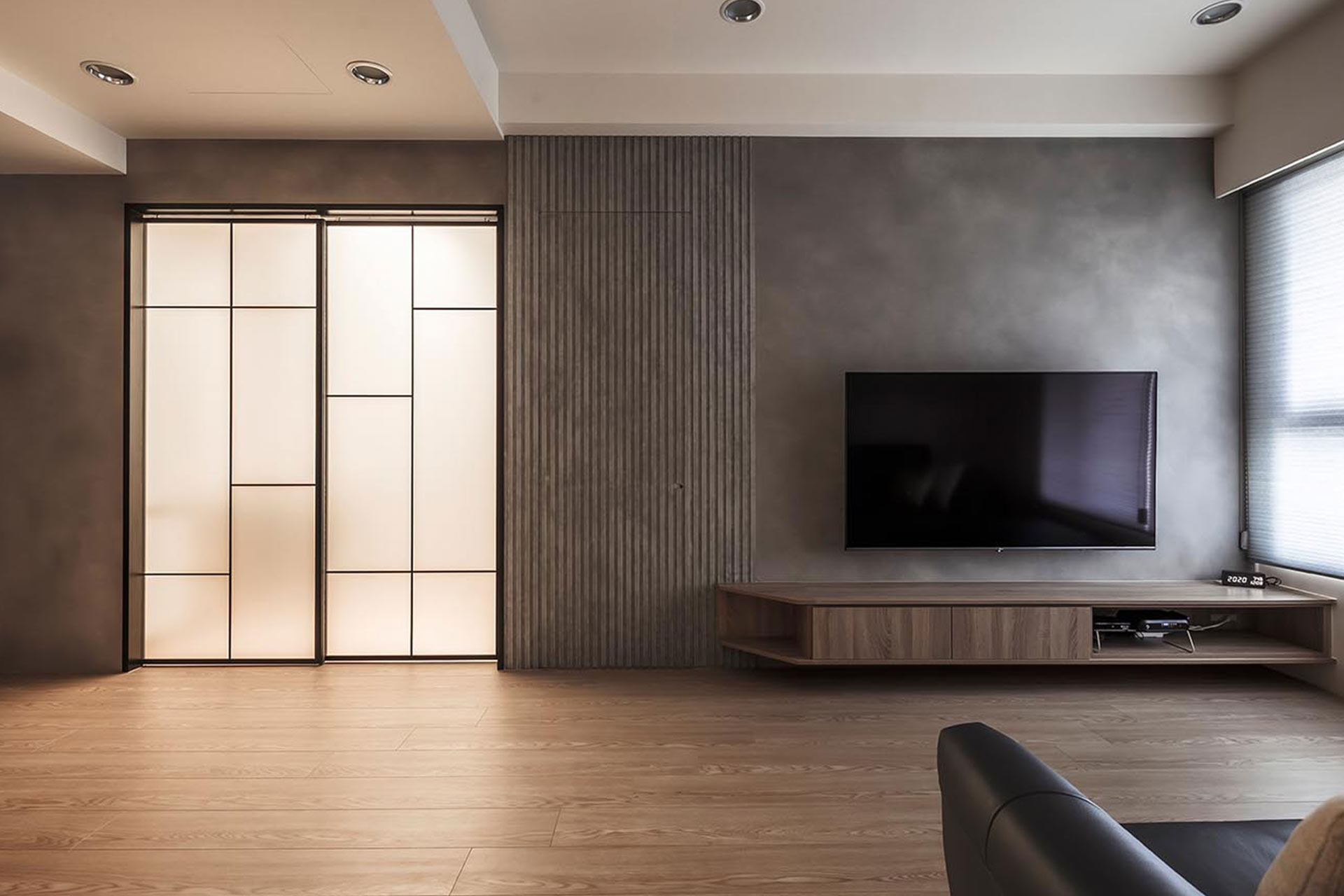 裝潢設計作品:質感現代風 輕工業精品宅