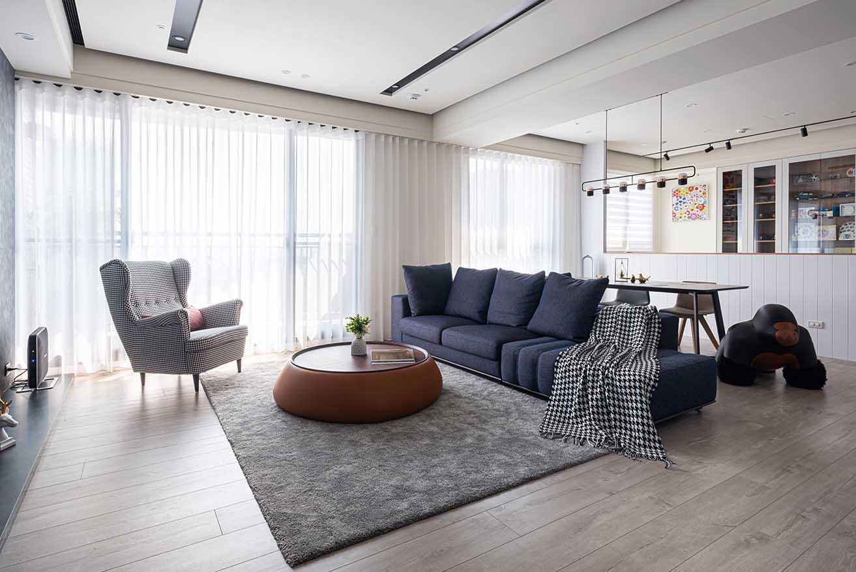 40坪三房兩廳-輕巧北歐風|舒適宜居宅;