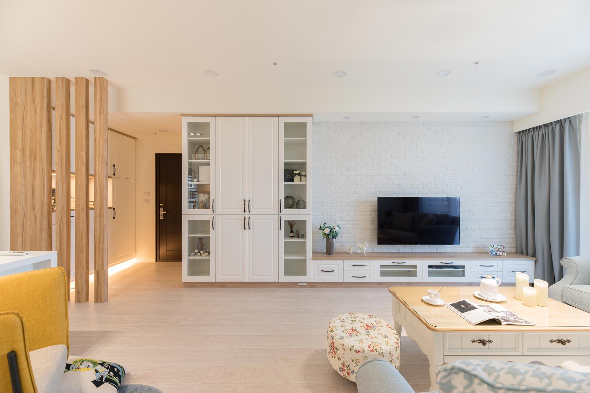 新屋裝修-優雅鄉村風|高收納量的溫馨居家