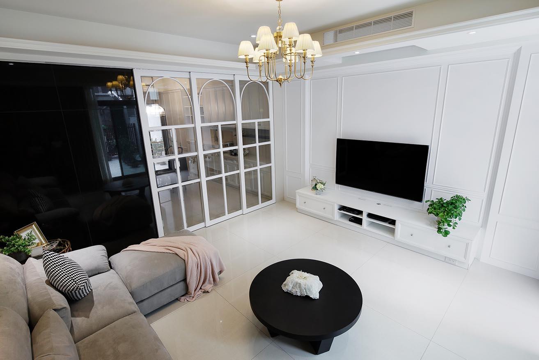新屋裝修-潔白典雅|優雅古典風