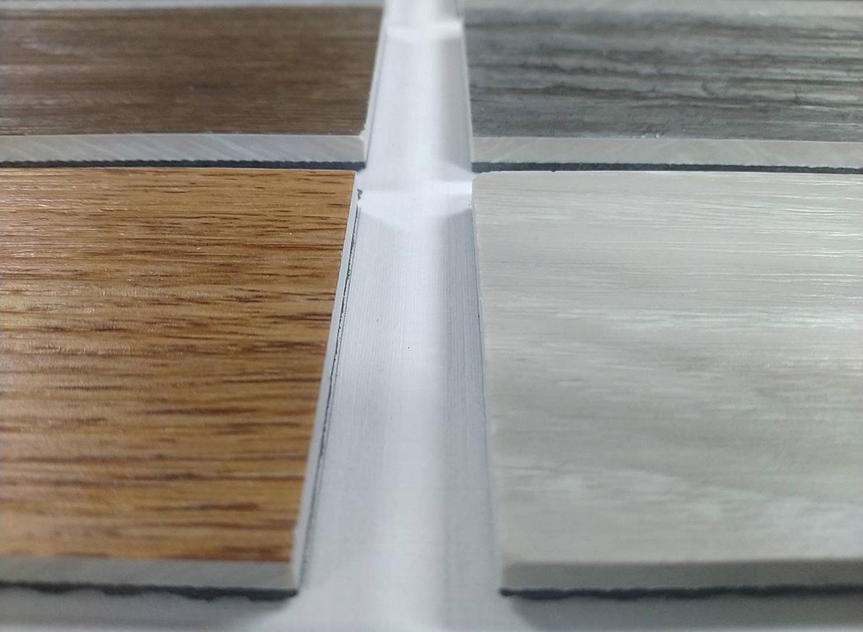 品質好的SPC有著極接近木地板的外觀與觸感;