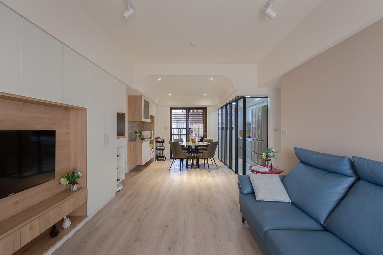 23坪三房兩廳-輕巧北歐風|舒適宜居宅;