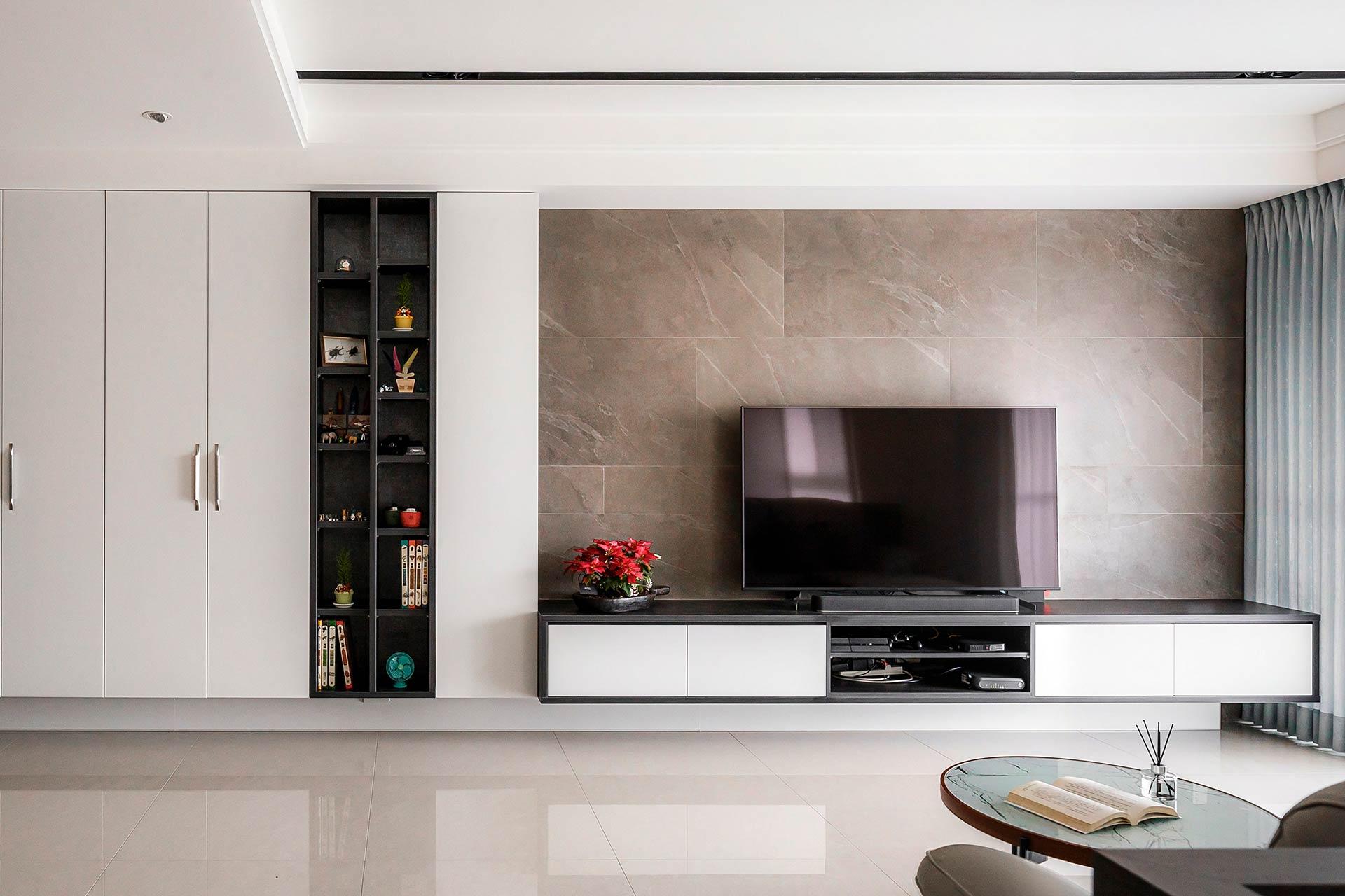 沉穩現代風穩重內斂舒活宅,室內設計案例