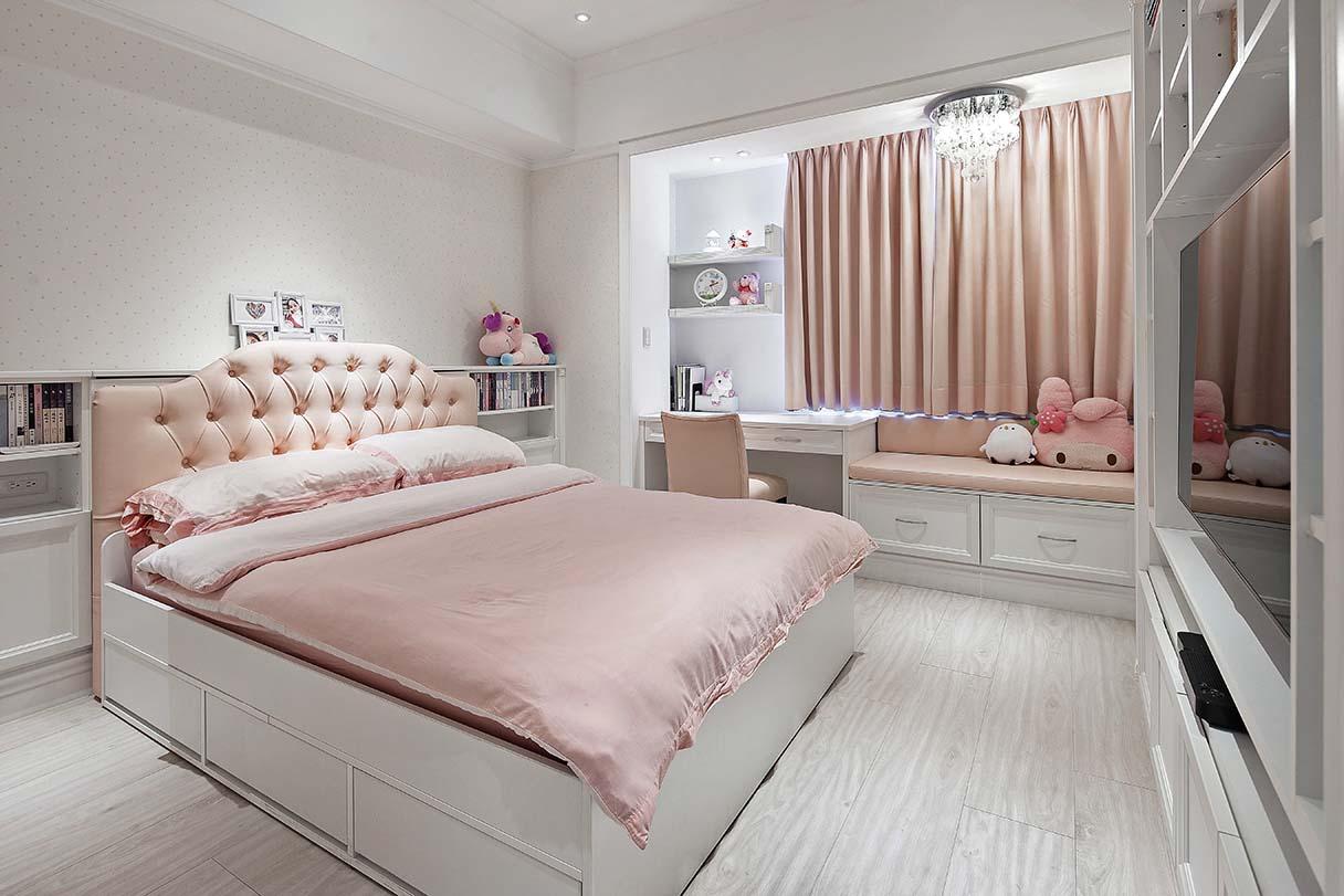 古典風的臥室-歐風古典的風情,可以帶給臥室一種圓融的效果;