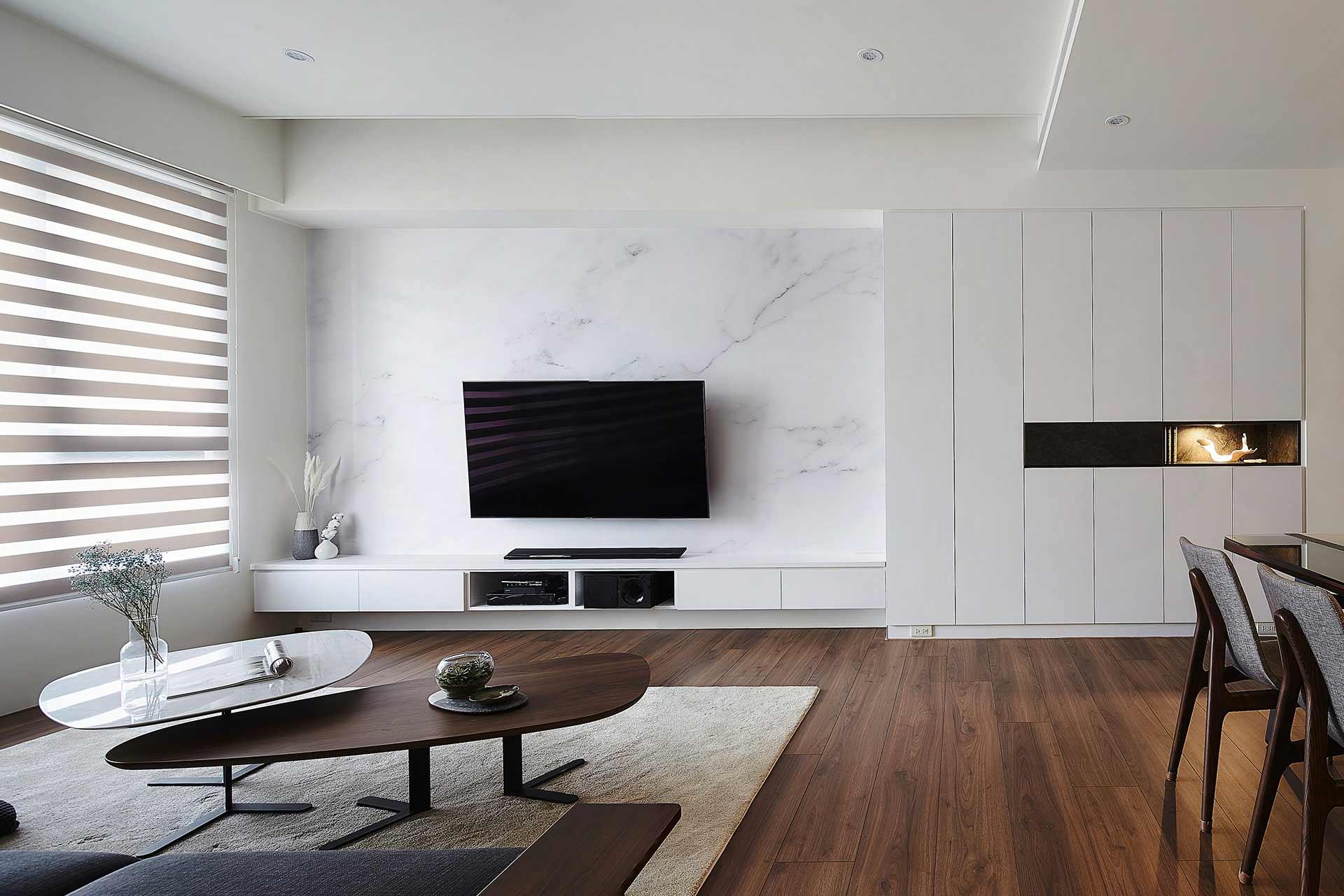 日光現代風|舒活退休宅,室內設計