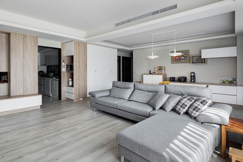 北歐風暖色調家具