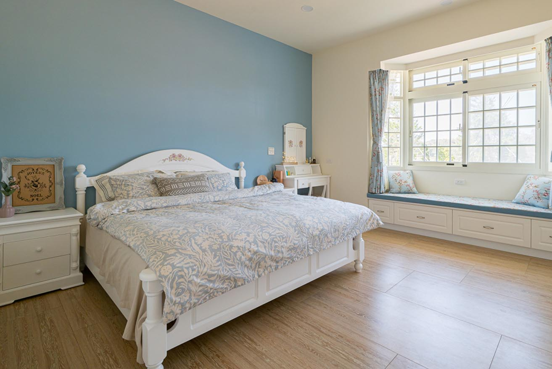鄉村風的臥室-歐風古典的風情,可以帶給臥室一種圓融的效果;