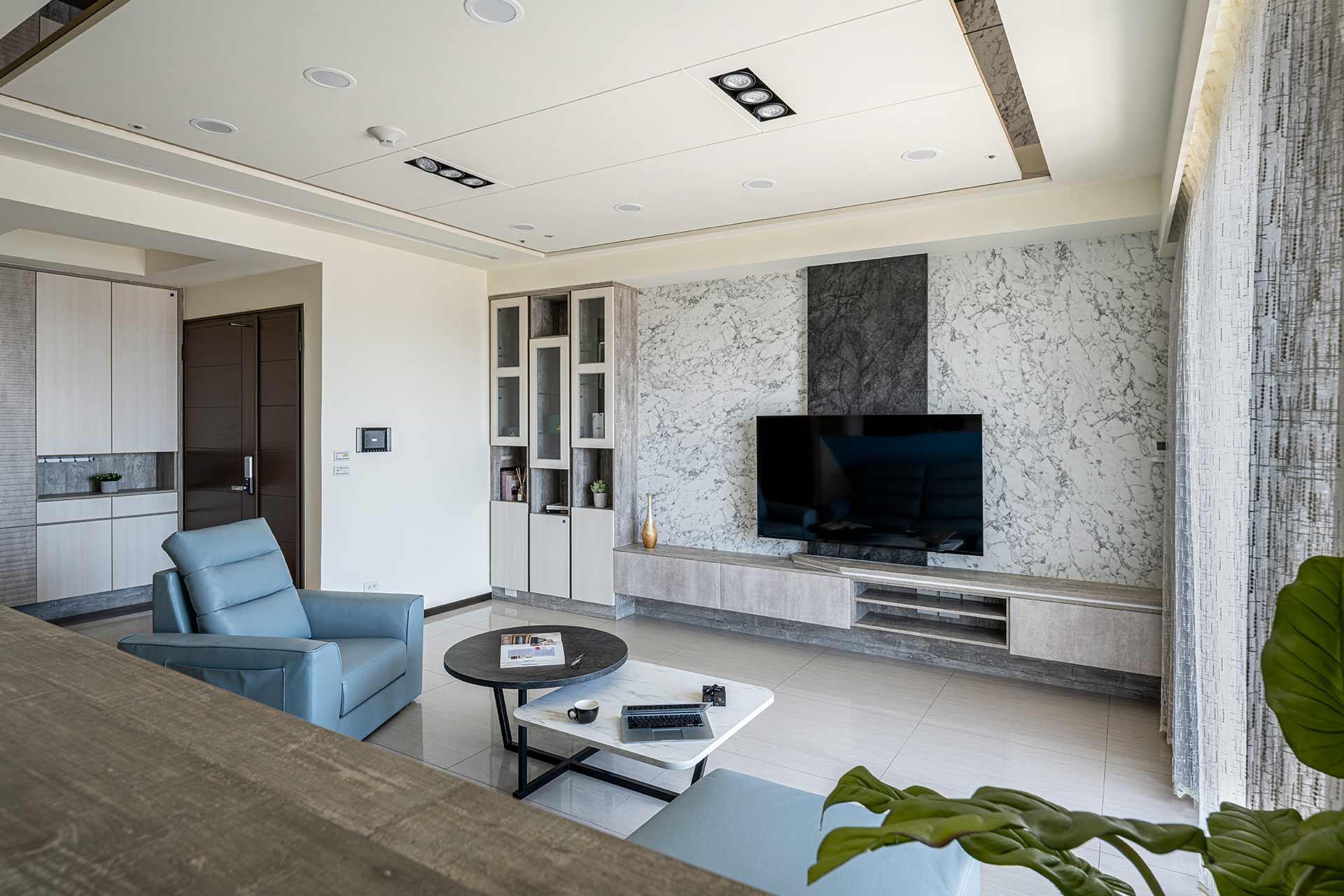 明亮簡約風層次堆疊高質感,室內設計案例