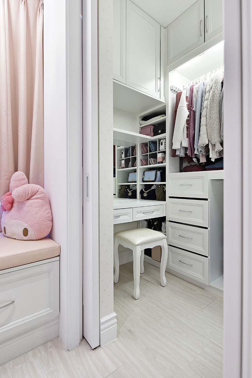化妝台/梳妝台與更衣室的搭配;