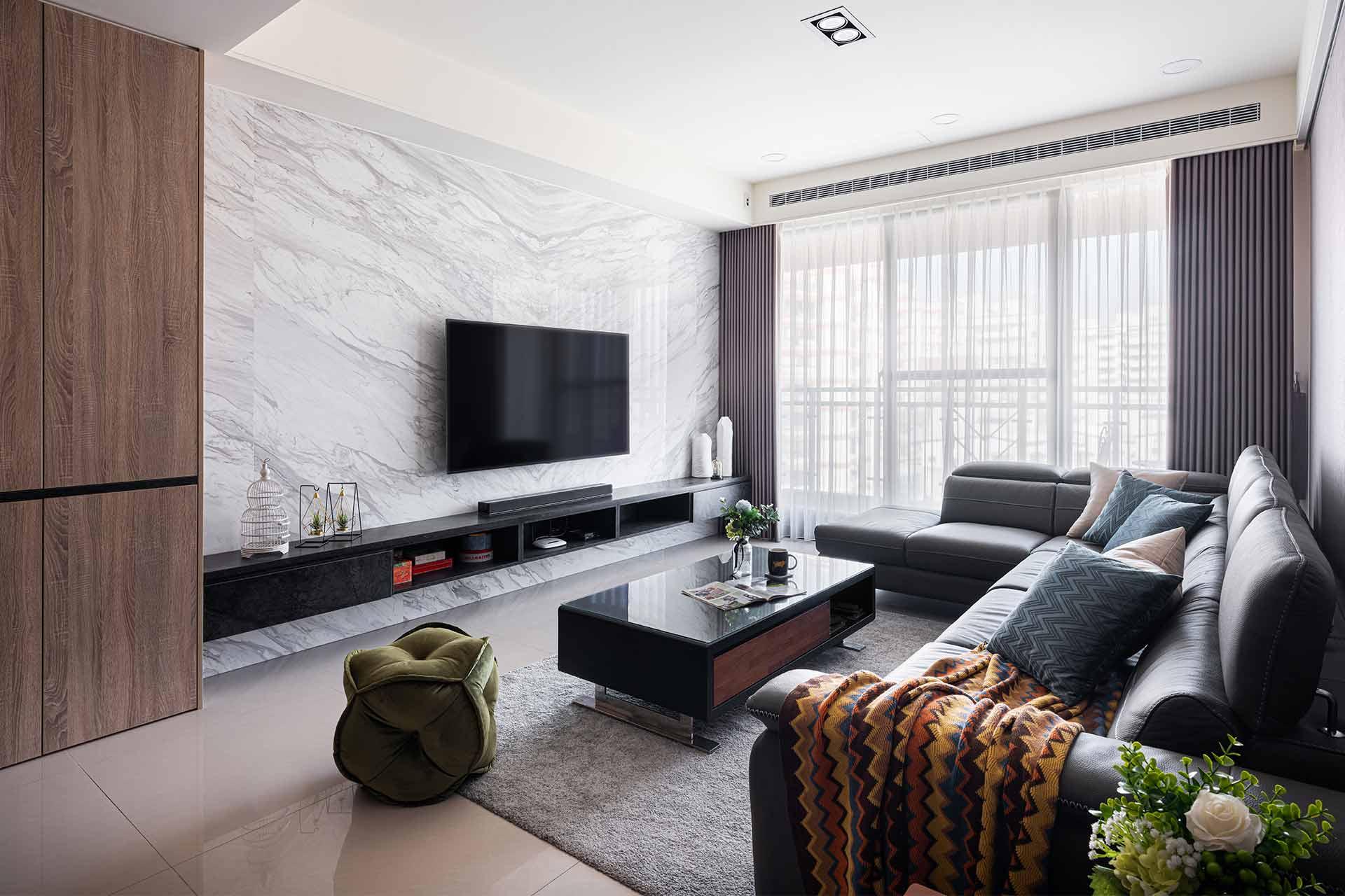 輕奢現代風 靜享精品生活宅,室內設計