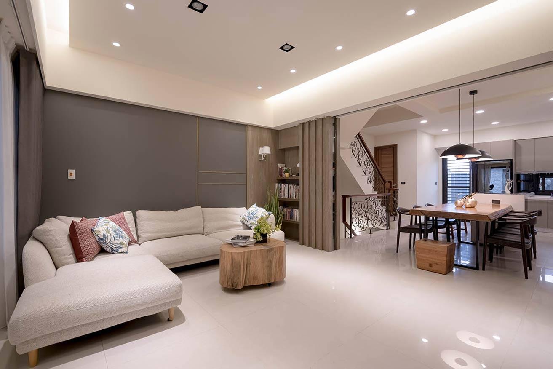 新屋裝修-收納機能|簡約風舒心宅