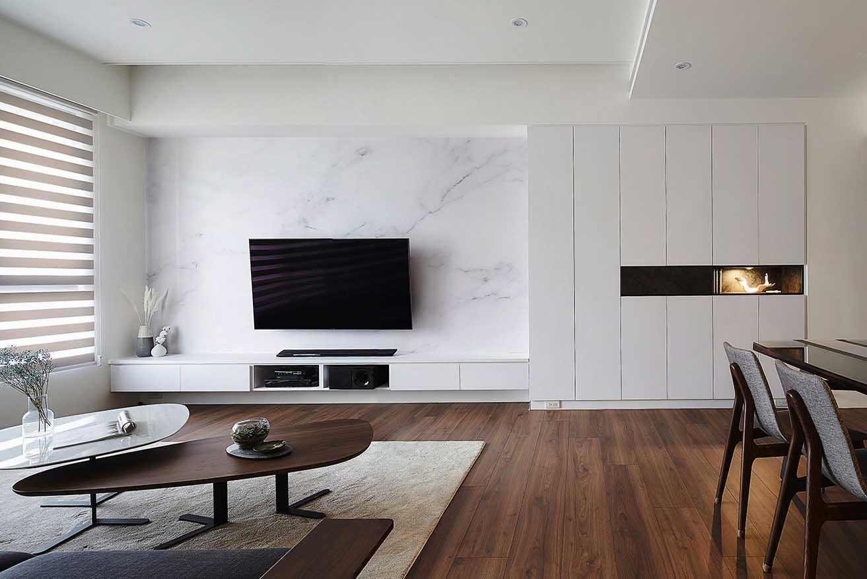 現代風電視牆櫃;