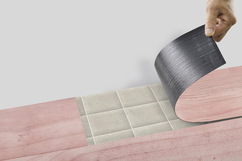 柔軟的塑膠地板鋪設上非常簡單,一般人DIY鋪設也OK;
