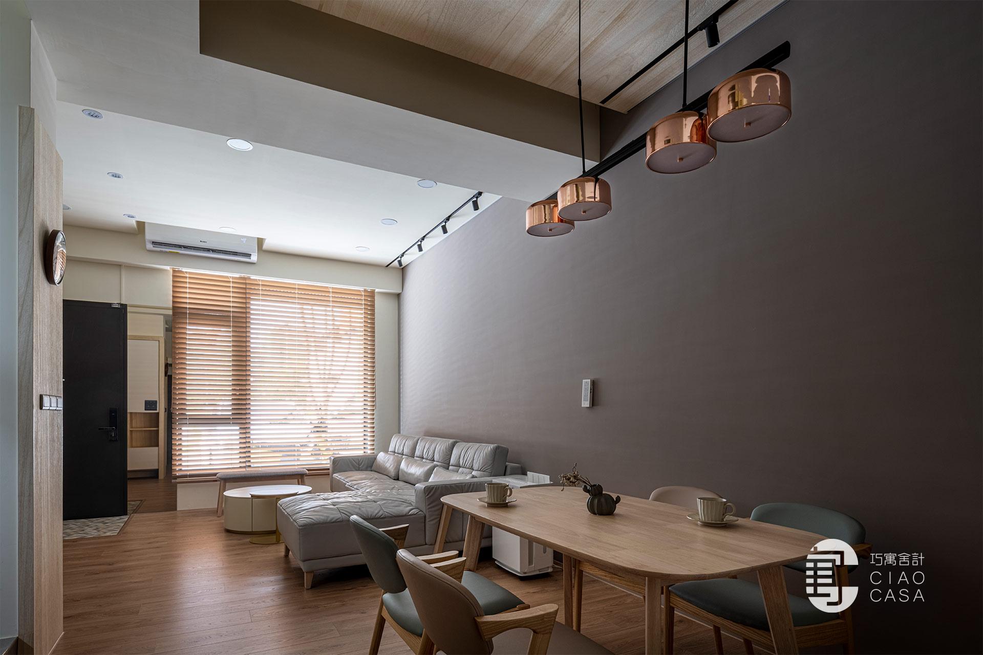 輕巧北歐風|舒適宜居宅,室內設計