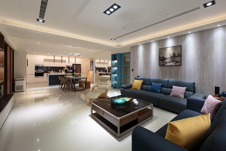 70坪三房兩廳-輕奢品味風采|現代風親子宅;